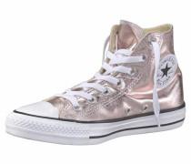 Sneaker 'Chuck Taylor All Star Metallic Hi' rosegold