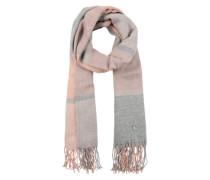 Schal 'Cosy' grau / rosa