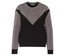 Pullover 'Onlelexa' schwarz / silber