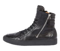 High-Top Sneaker 'Trace' schwarz