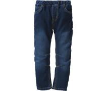 Sweatjeans Slim für Jungen dunkelblau