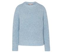 Grobstrick-Pullover 'Boy' blau