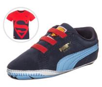 Suede Superman 2 Set Kleinkinder blau