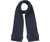 Schal für Mädchen nachtblau