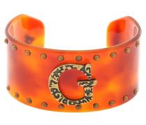 Armspange gold / orange / orangerot