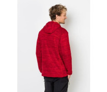 Fleecejacke 'Aquila Hooded' rot