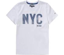 T-Shirt für Jungen Organic Cotton weiß