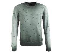 Sweatshirt 'walter' grün / pastellgrün
