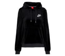 Sweatshirt 'hoodie PO Velour'