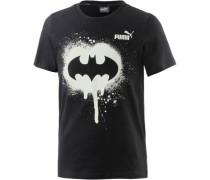 'Batman' T-Shirt schwarz / weiß