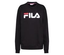 Sweatshirt 'Pure' schwarz / weiß / rot