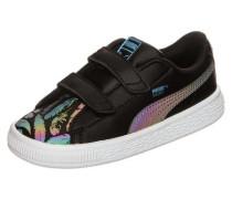 'Basket Swan V' Sneaker türkis / lila / schwarz / weiß