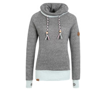 Sweatshirt 'Kroon' grau