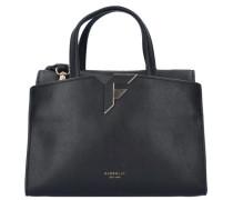 Handtasche 26 cm schwarz