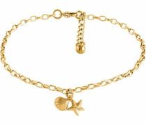 Fußkette »Seestern und Muschel« gold