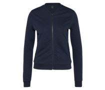 Sweatjacket 'ONLJoyce Bomber' nachtblau