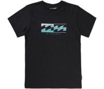 T-Shirt 'inverse' schwarz