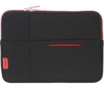 Airglow Sleeves Laptop-Hülle 285 cm rot / schwarz