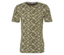 Einfarbiges T-Shirt grün