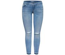 Knöchel-Skinny Fit Jeans 'Coral sl' blau