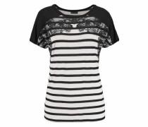 Ringelshirt schwarz / weiß