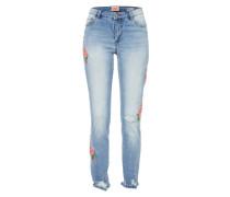 Skinny Jeans 'onlCARMEN' blue denim