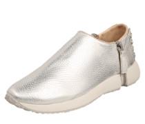 Sneaker 'Zip-round' silber