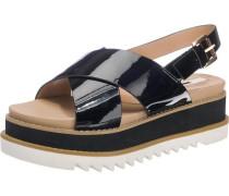 'Virginia' Sandaletten schwarz