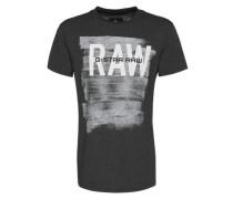 T-Shirt 'Xaix' schwarz