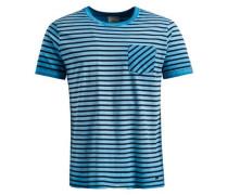 Shirt 'tick' blau / hellblau / dunkelblau