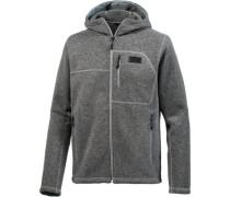 'Gordon Lyons hoodie' Fleecejacke dunkelgrau