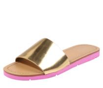 Pantolette 'gwayni' gold / pink