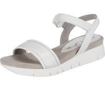 Sandaletten 'Bazar' weiß