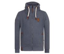 Male Zipped Jacket 'Ivic Viii' grau