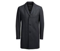 Mantel aus Wollmischfaser grau