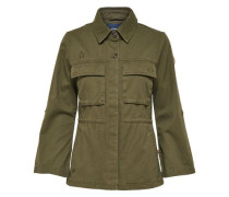 Detailreiche Jacke khaki