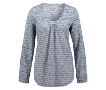 Tunika aus Baumwolle blau