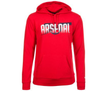 Arsenal London Cannon Kapuzenpullover Herren rot