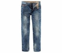 Slim-fit-Jeans »Twister« blue denim