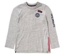 Baby Jeans für Jungen dunkelblau / graumeliert / rot