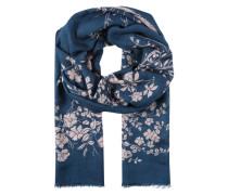 Schal 'Geraldine' blau / rosa