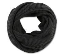 Loop aus Waffel-Piqué schwarz