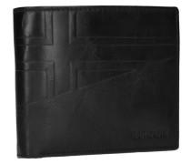 Hike Billfold 10 Geldbörse Leder 12 cm schwarz