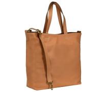 Stockholm 34 Shopper Tasche Leder 38 cm beige