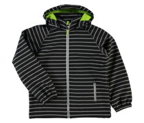 Nitalfa Softshell-Jacke neongrün / schwarz / weiß