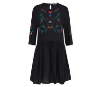 Kleid 'eli Emb' mischfarben / schwarz