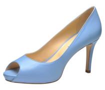 Peeptoe blau