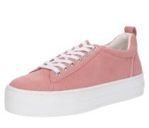 Sneaker koralle / weiß