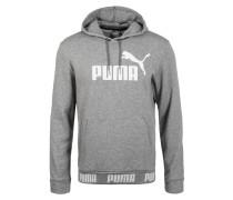 Pullover 'Amplified' weiß / graumeliert