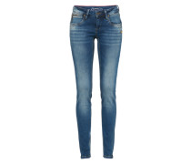 Mid Waist Jeans 'nikita' blue denim